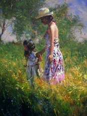 Robert Hagan with Amarys Criteria is Mother and Child